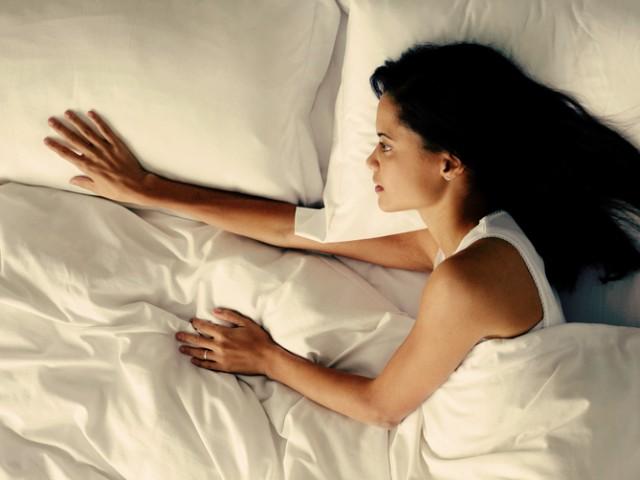 Необвързана - сама в леглото