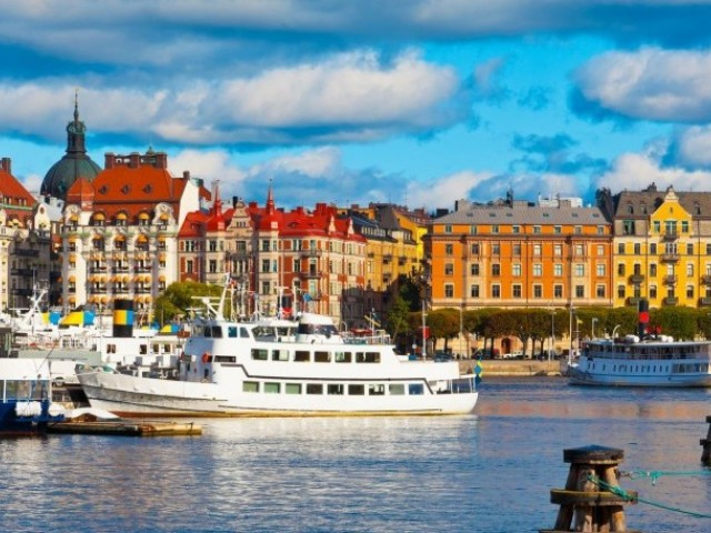 На почивка в Швеция - Стокхолм