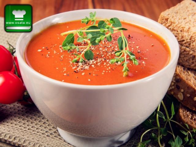 Рецепта за Бърза доматена супа
