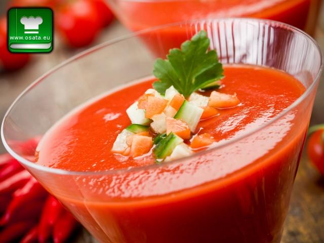 Рецепта за гаспачо - испанската доматена супа