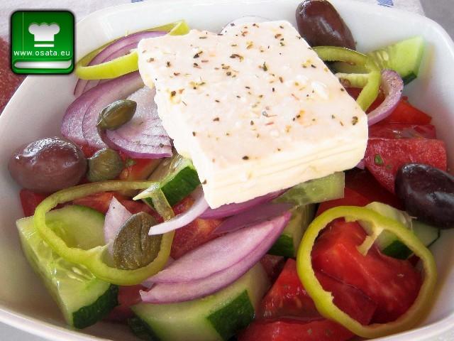Рецепта за Гръцка салата
