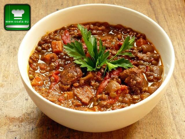 Рецепта за леща с картофи и наденица