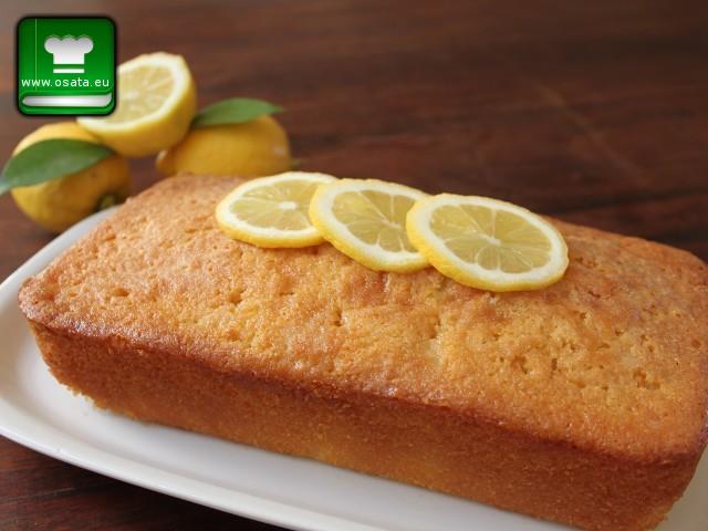 Рецепта за лимонов кекс с бадемово брашно