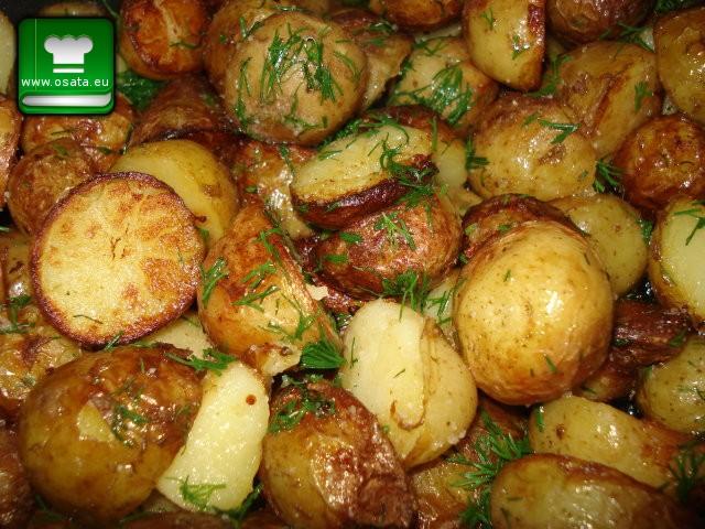 Рецепта за пресни картофи соте