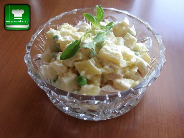 Рецепта за картофена салата с калмари