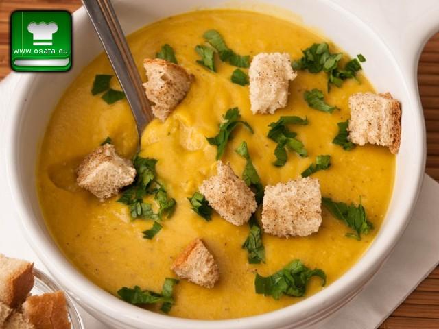 Рецепта за крем-супа от тиква