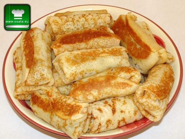 Рецепта за палачинки с кайма и твърдо сварено яйце