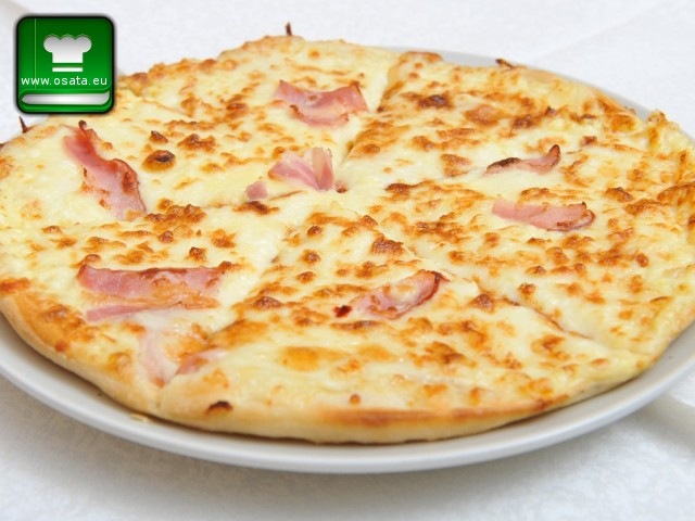 Рецепта за пица карбонара