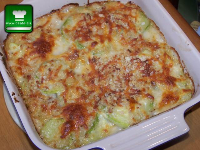 Рецепта за гратен с тиквички на фурна