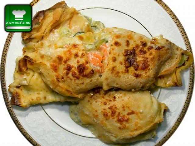 Рецепта за палачинки със сьомга (crepes al salmone)