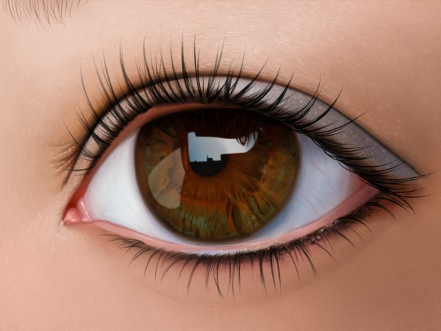 Хора с кафяви очи