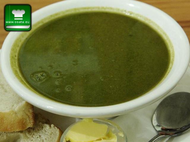Рецепта за спаначена крем супа