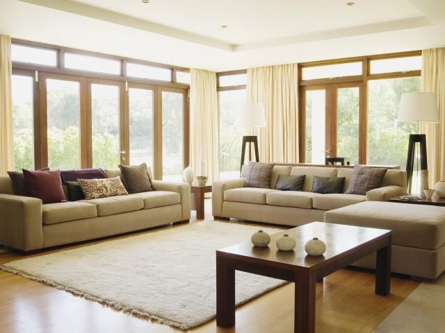 Интериорен дизайн, обзавеждане на хол, кухня и баня