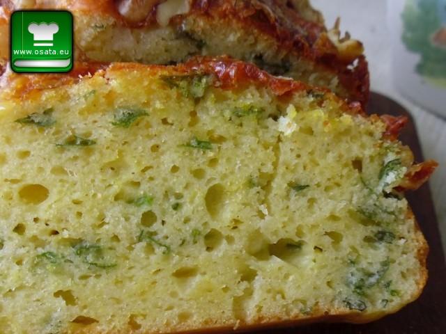 Рецепта за гръцки солен кекс с копър