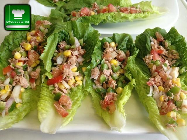 Рецепта за лятна салата с риба тон