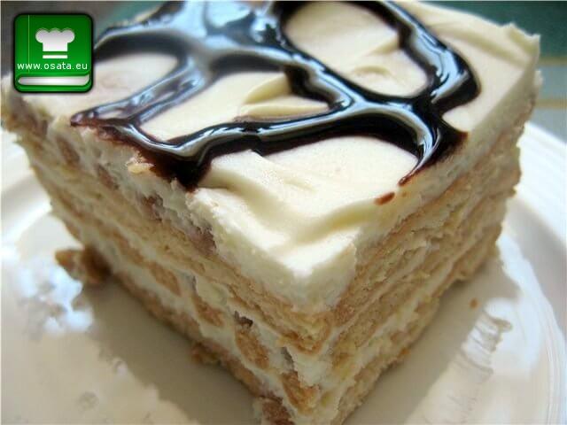 Рецепта за бисквитена торта с маскарпоне