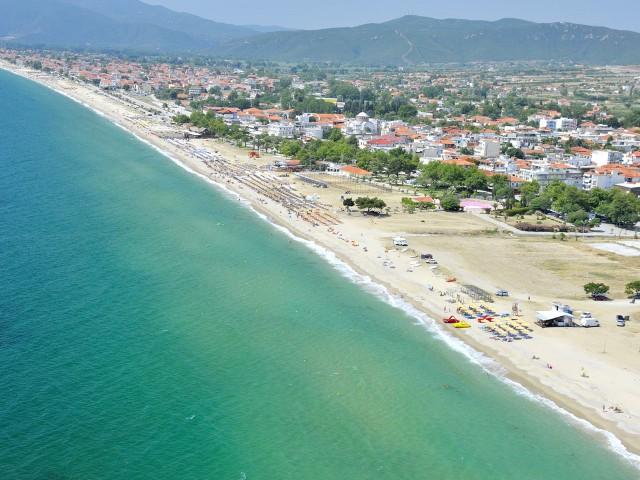 Почивка в Гърция плажът на Аспровалта