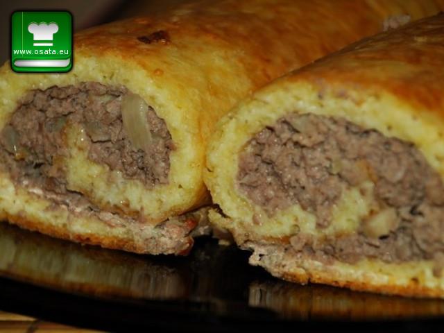 Рецепта за картофен пудинг с кайма