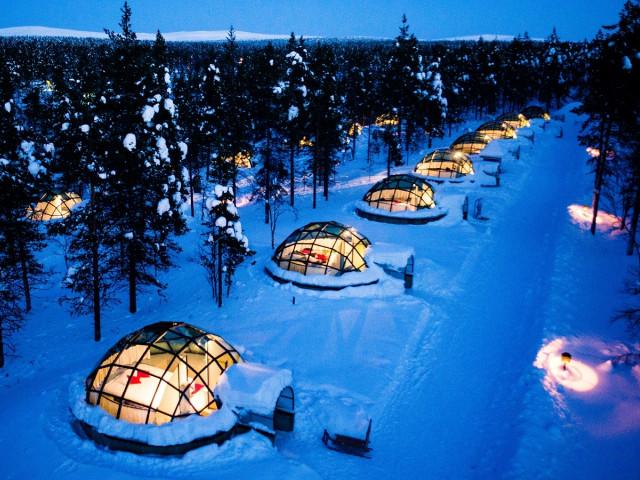Хотел Какслаутанен Лапландия, Финландия