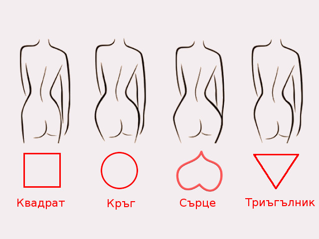 Формата на женското дупе и здравето на жената