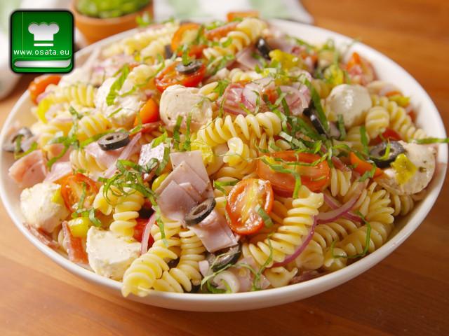 Рецепта за италианска салата с макарони