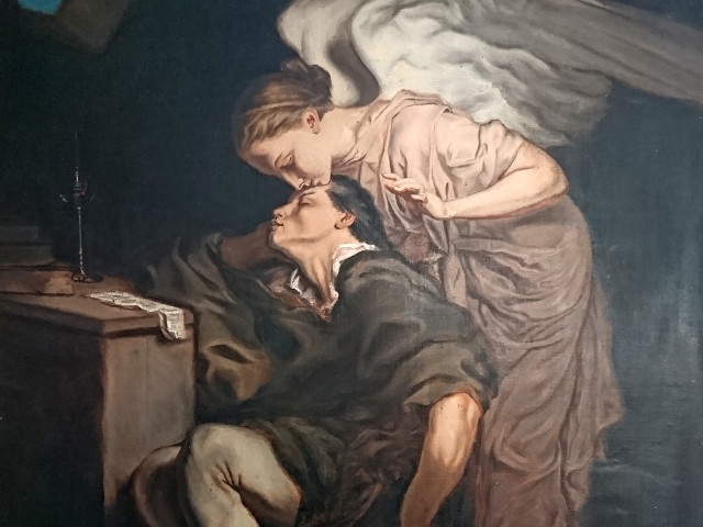 Целувката на музата