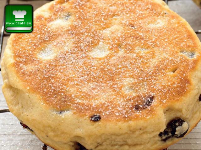 Рецепта за уелски маслен кейк с боровинки
