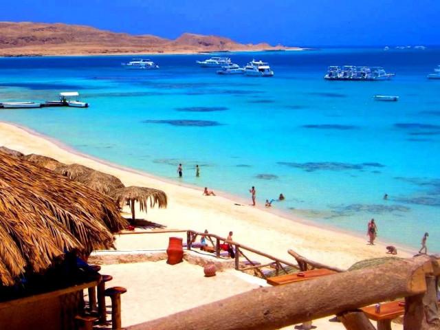 На плаж в Египет