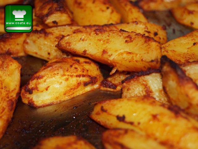 Рецепта за хрупкави картофки по селски